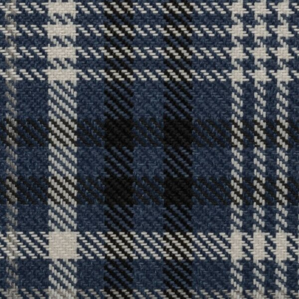 Karostoff DEVON blau 1/2 Meter