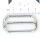 Schieber ( Stopper ) Riemenversteller 40mm Zinkdruckguss vernickelt