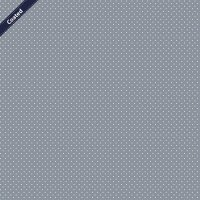 Beschichtete Baumwolle DOTS Grey 013 1/2 Meter